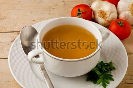 Noodles Soup Stock photo © Francesco83