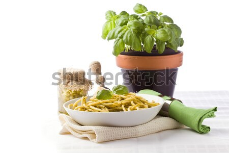 Pasta with Pesto Stock photo © Francesco83