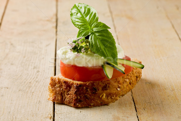 Caprese starter Stock photo © Francesco83