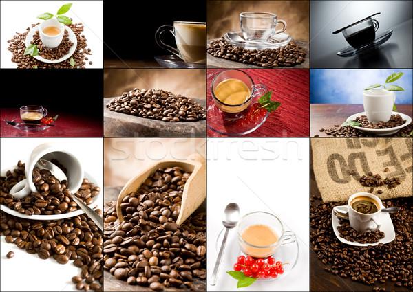Stock photo: Coffee Collage