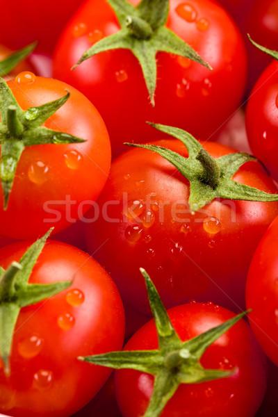 Pomidorów Fotografia świeże pomidory żywności tle Zdjęcia stock © Francesco83