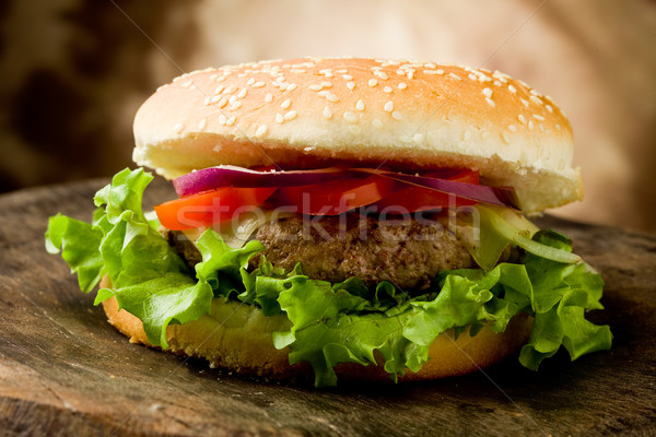Hamburger Stock photo © Francesco83