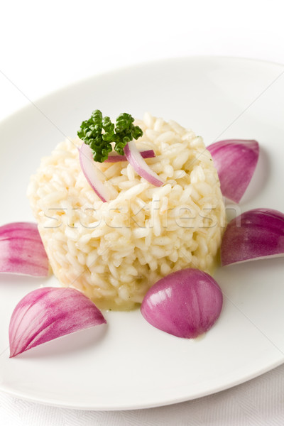 Risotto with red onions Stock photo © Francesco83