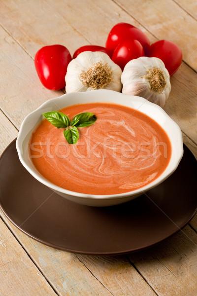 томатный суп фото томатный кремом суп Сток-фото © Francesco83
