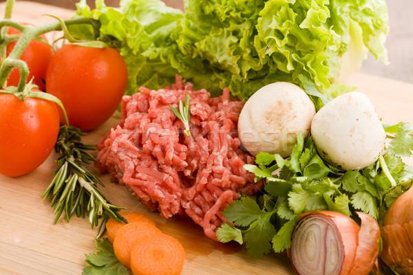 Minced meat Stock photo © Francesco83