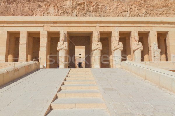 Entrance to the Temple of Queen Hatshepsut  (Egypt ) Stock photo © frank11