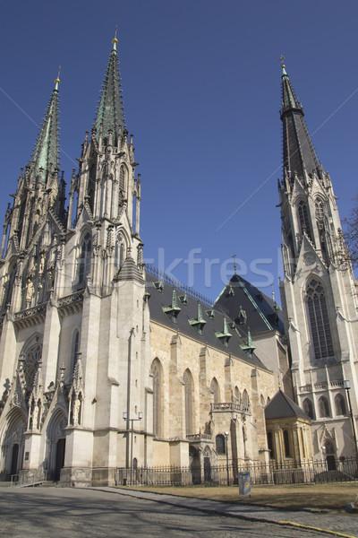 Saint Wenceslas Cathedral in Olomouc (Czech Republic) Stock photo © frank11