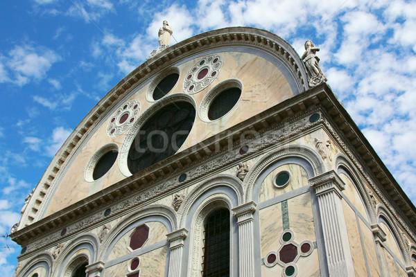 Церкви Венеция Италия красивой крест Сток-фото © frank11