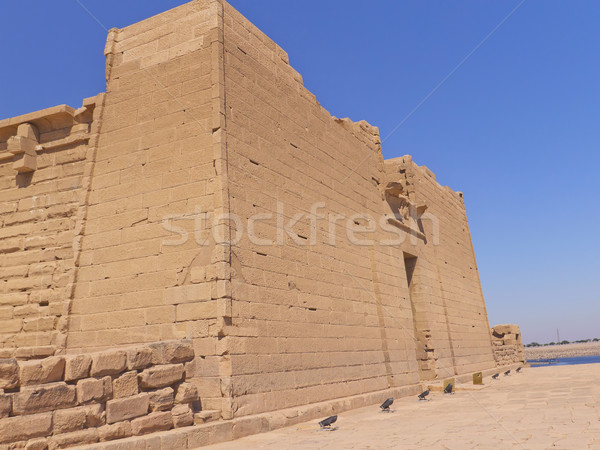 Temple of Kalabsha Stock photo © frank11