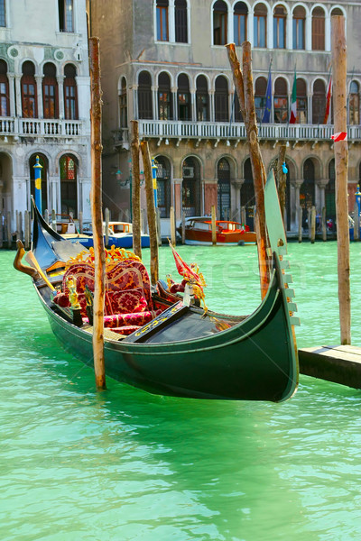 Gondola on Canale Grande in Venice (Italy)  Stock photo © frank11