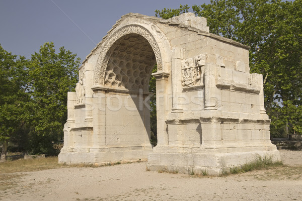 Triumphal arch in Glanum.  Stock photo © frank11