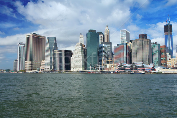 Lower Manhattan in a sunny morning Stock photo © frank11