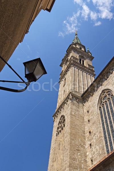 The Franciscan church in Salzburg Stock photo © frank11