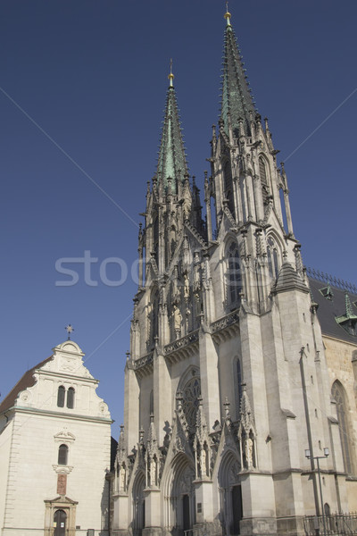 Saint Wenceslas Cathedral in Olomouc (Czech Republic) Stock photo © frank11