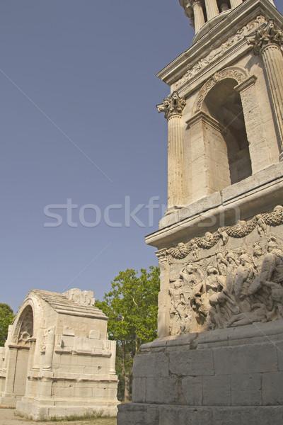 Triumphal arch in Glanum. (France) Stock photo © frank11