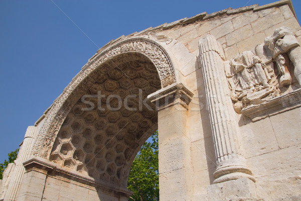 Detailed view of Triumphal arch. Stock photo © frank11
