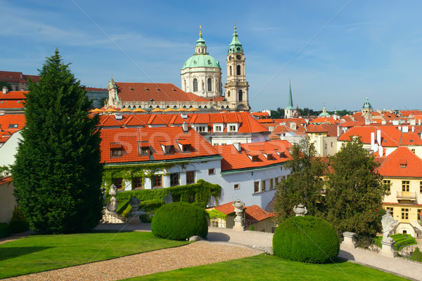 View of 'Mala Strana'. Prague, Czech Republic Stock photo © frank11