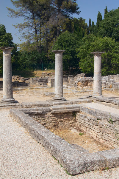 The ancient baths in Glanum.. France. Stock photo © frank11