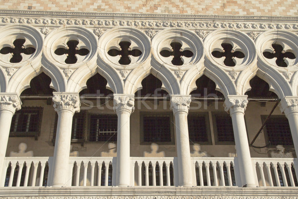 Detailed view of Palace in Venice (Italy) Stock photo © frank11