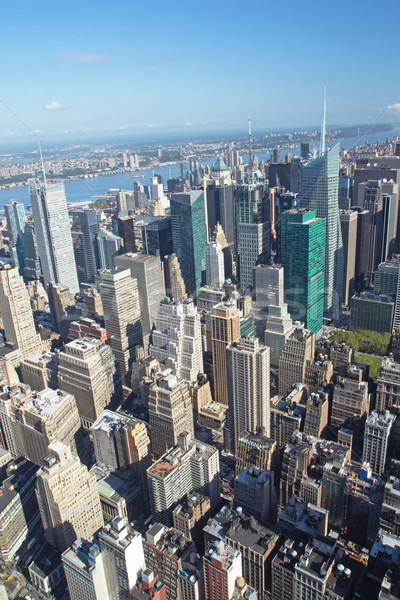 Aerial view of the Midtown (Manhattan, New York City).  Stock photo © frank11