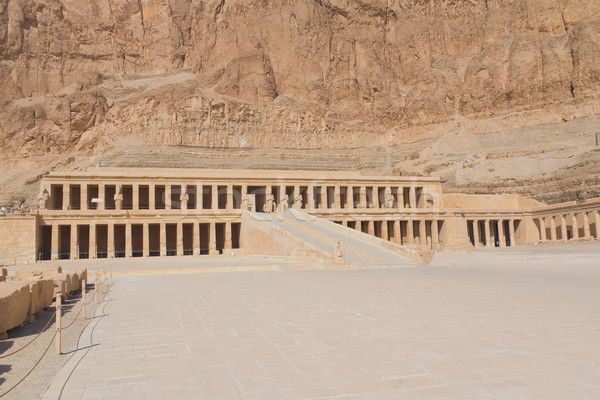 The Temple of Queen Hatshepsut at Luxo r(Egypt ) Stock photo © frank11