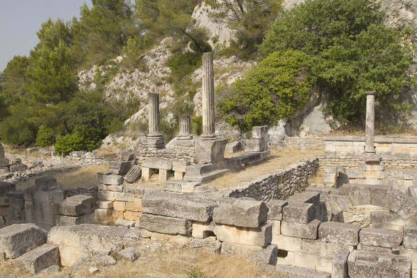 Glanum near of Saint-Rémy-de-Provence. France. Stock photo © frank11