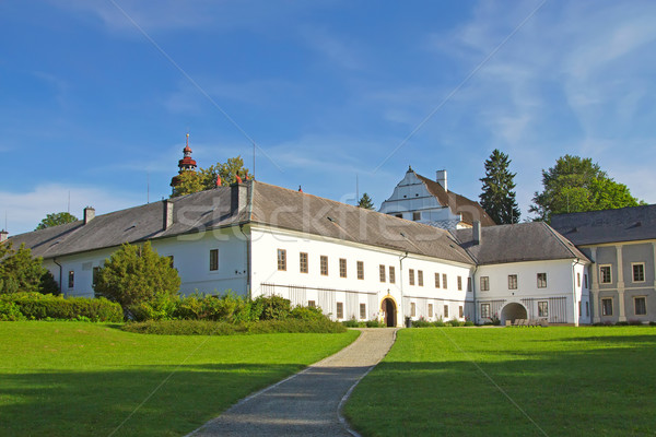 Castle in Velke Losiny (Czech Republic) Stock photo © frank11