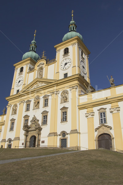 Basilica of Our Lady of Visitation in Olomouc (Czech Republic).  Stock photo © frank11