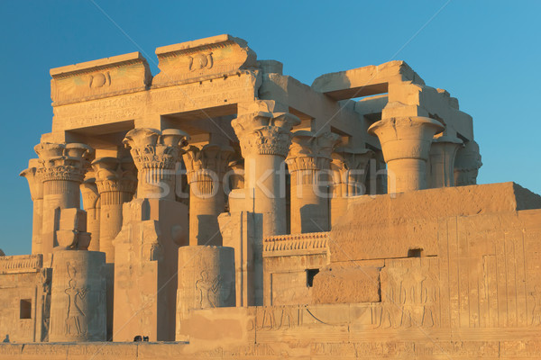 Temple of Kom Ombo in sunset light ( Egypt ) Stock photo © frank11
