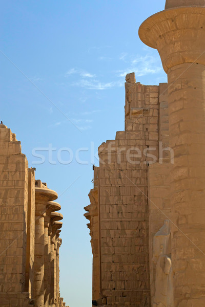 Temple of Luxor (Egypt) Stock photo © frank11