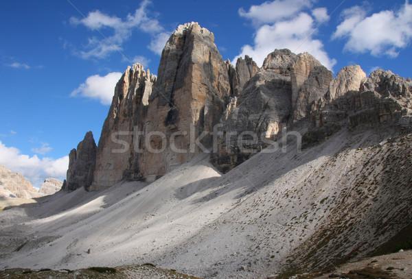Dolomiti-Tre Cime di Lavaredo Stock photo © frank11