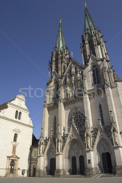 Saint Wenceslas Cathedra in Olomouc( Czech Republic. ) Stock photo © frank11