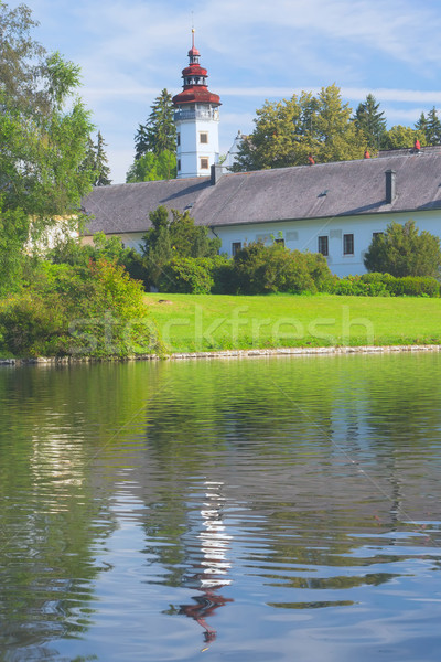 State castle in Velke Losiny (Czech Republic). Stock photo © frank11