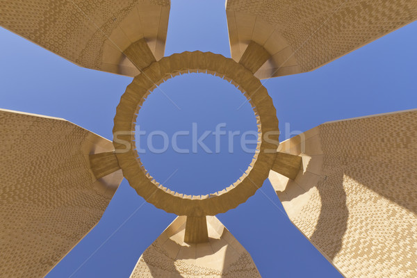 Aswan Dam Memorial  Stock photo © frank11