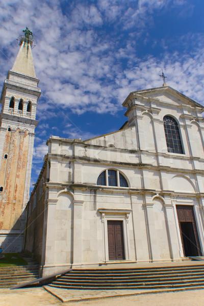 Iglesia barrio antiguo Croacia Europa cielo casa Foto stock © frank11
