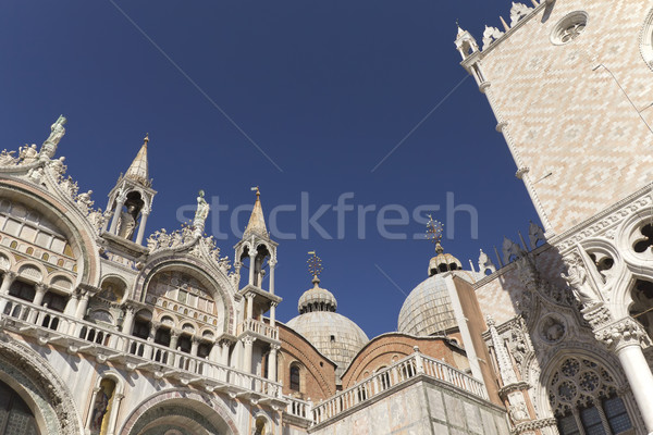 Cathedral of San Marco (Venice, Italy). Horizontally. Stock photo © frank11