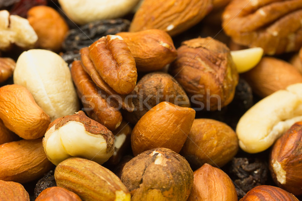 смешанный орехи изюм продовольствие природы фон Сток-фото © frank11