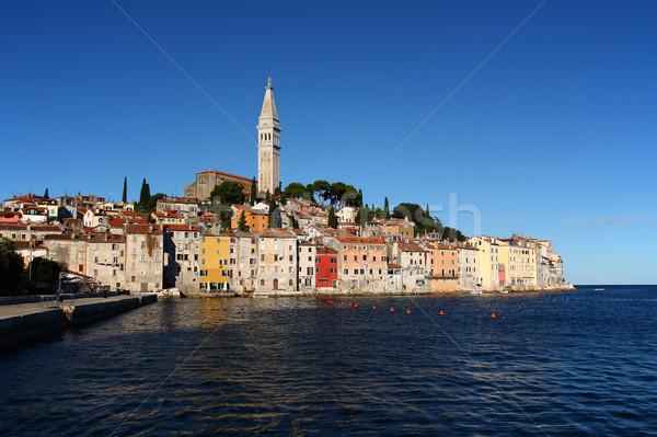 View of the city of Rovinj (Croatia) Stock photo © frank11