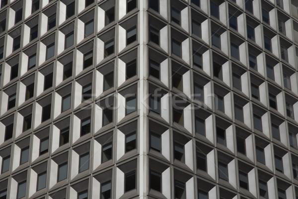 Iş Bina pencereler ayrıntılı görmek Stok fotoğraf © frank11