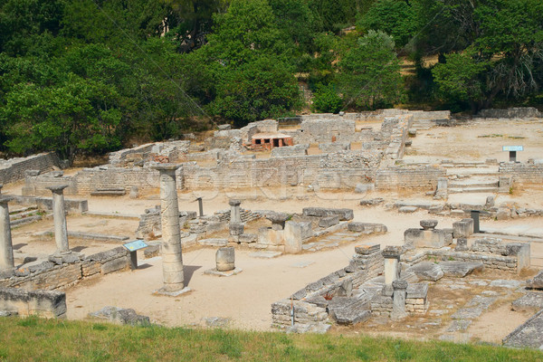 General view of Glanum. France Stock photo © frank11