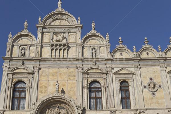 Venecia Italia cielo azul escuela paisaje mundo Foto stock © frank11