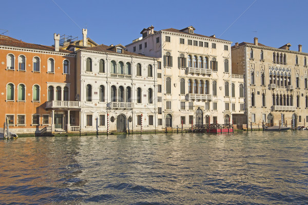 Stock photo: Grand Canal in Venice (Italy)
