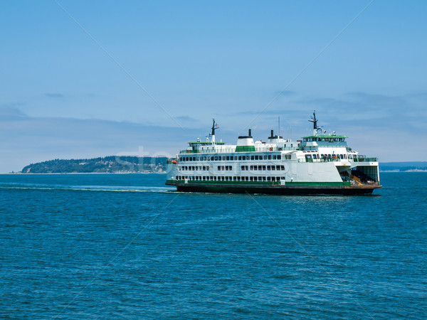 The Ferry at Mukilteo  Stock photo © Frankljr