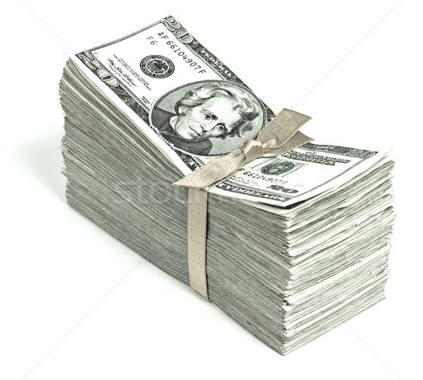 Estados Unidos moeda fita negócio dinheiro Foto stock © Frankljr