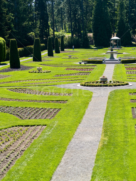 A Well Groomed Park in Early Spring Stock photo © Frankljr