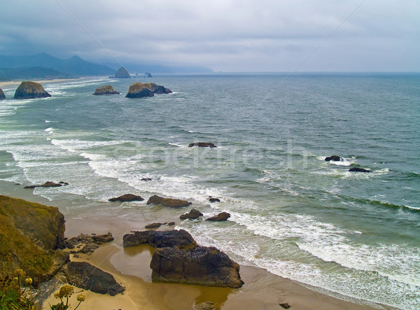 Stock photo: Oregon Coast from Ecola State Park