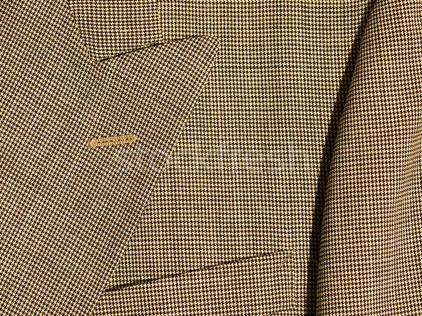 Tam kare kumaş detay suit arka plan bez Stok fotoğraf © Frankljr