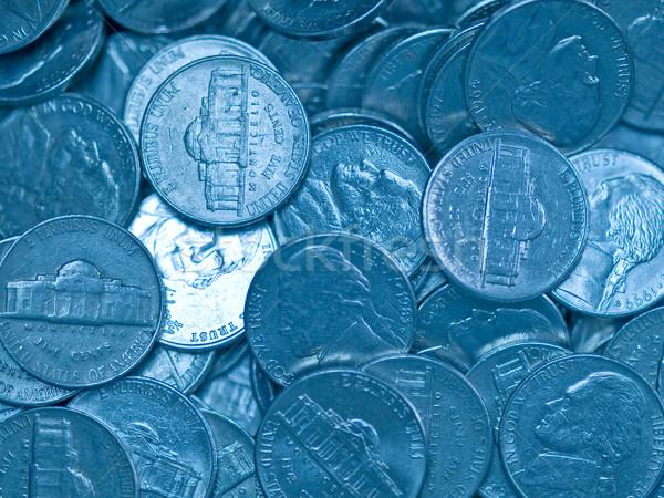 Stati Uniti monete soldi sfondo metal Foto d'archivio © Frankljr