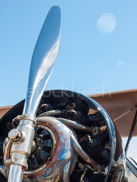 Propeller Aircraft's Prop and Engine Stock photo © Frankljr