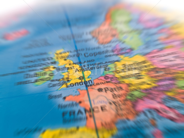 Global Studies of Europe with Emphasis on London Stock photo © Frankljr
